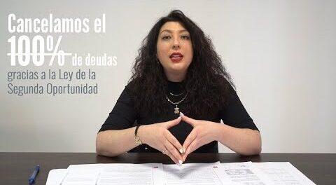 Familia de Madrid cancela 60.000€ con la Ley de Segunda Oportunidad